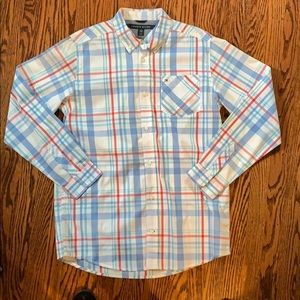 Nwot Tommy Hilfiger blue and red checked xl